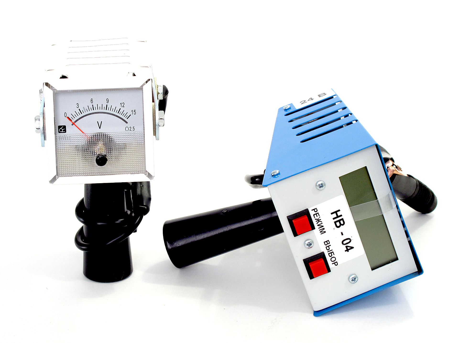 Нагрузочные вилки НВ-01 и НВ-04 индикация показаний