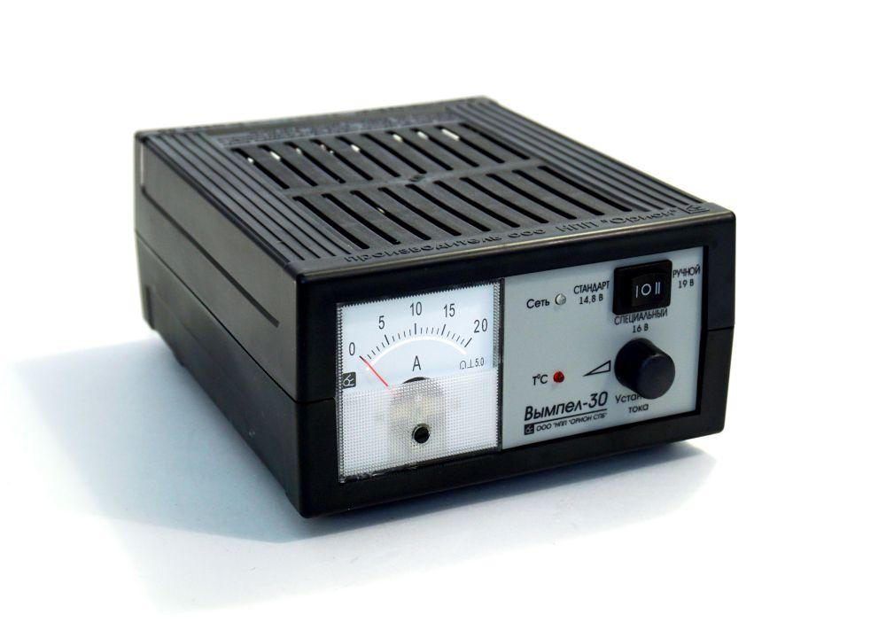 Проверка органов управления и индикации зарядного устройства