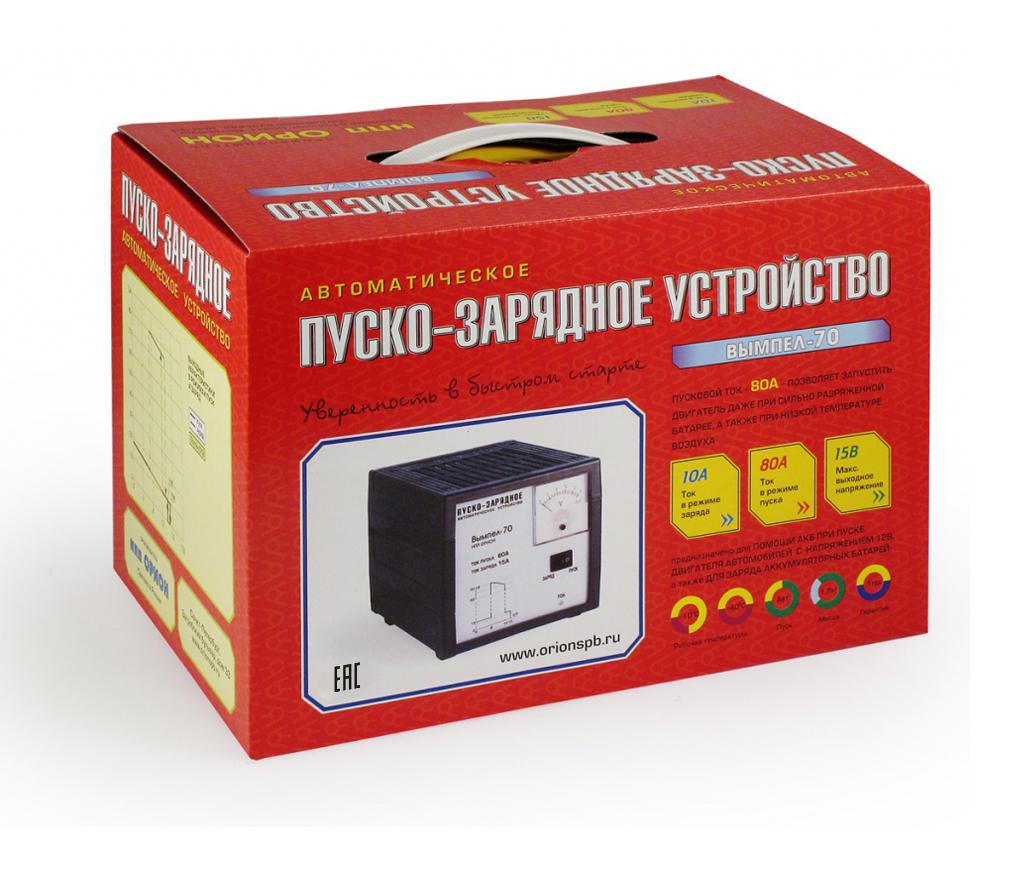 Устройство пуско-зарядное ОРИОН Вымпел-70 - фото 4