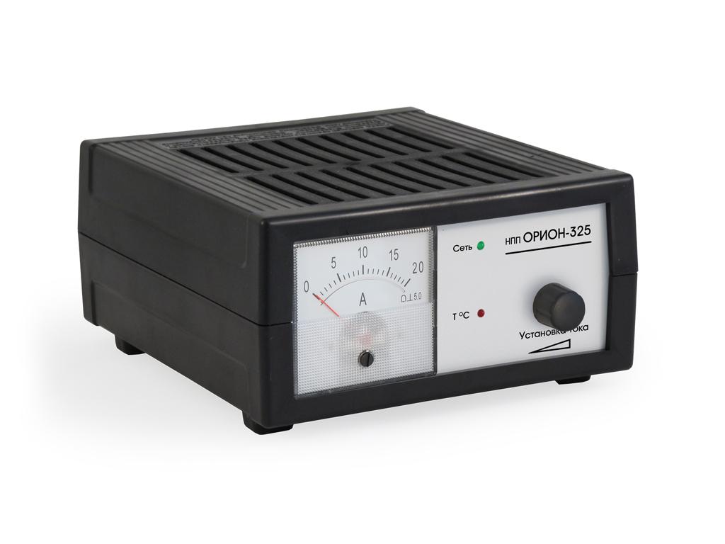 Инструкция зарядного устройства для автомобильного аккумулятора орион pw325